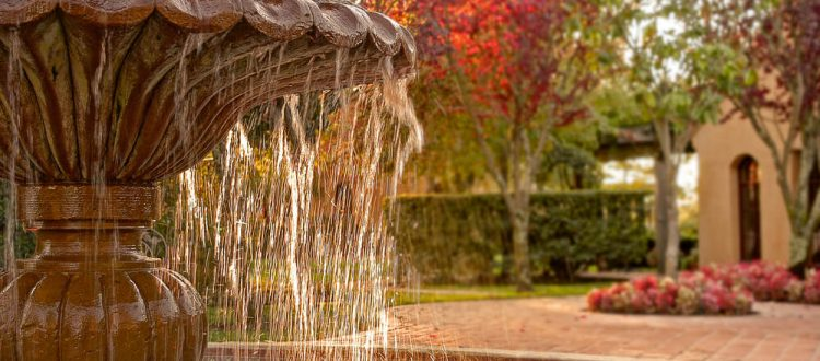 Complement the Beauty of Your Yard by Adding an Outdoor Water Fountain
